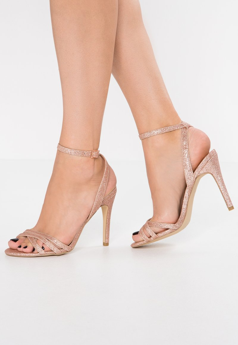 New Look - SHARP - Sandalias de tacón - rose gold