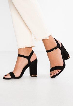 RAINY - Sandály na vysokém podpatku - black