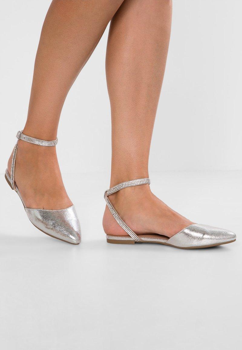 New Look - JENUINE - Sandalias - silver