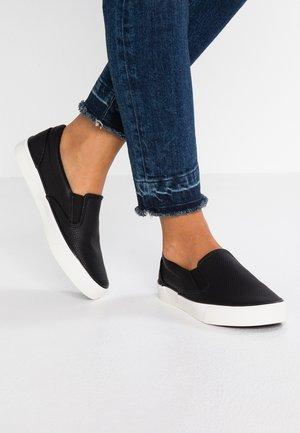 MIZARD - Scarpe senza lacci - black