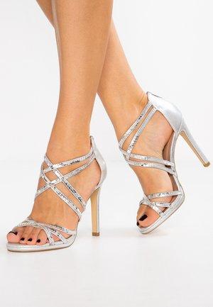 SABREETA - Sandalen met hoge hak - silver