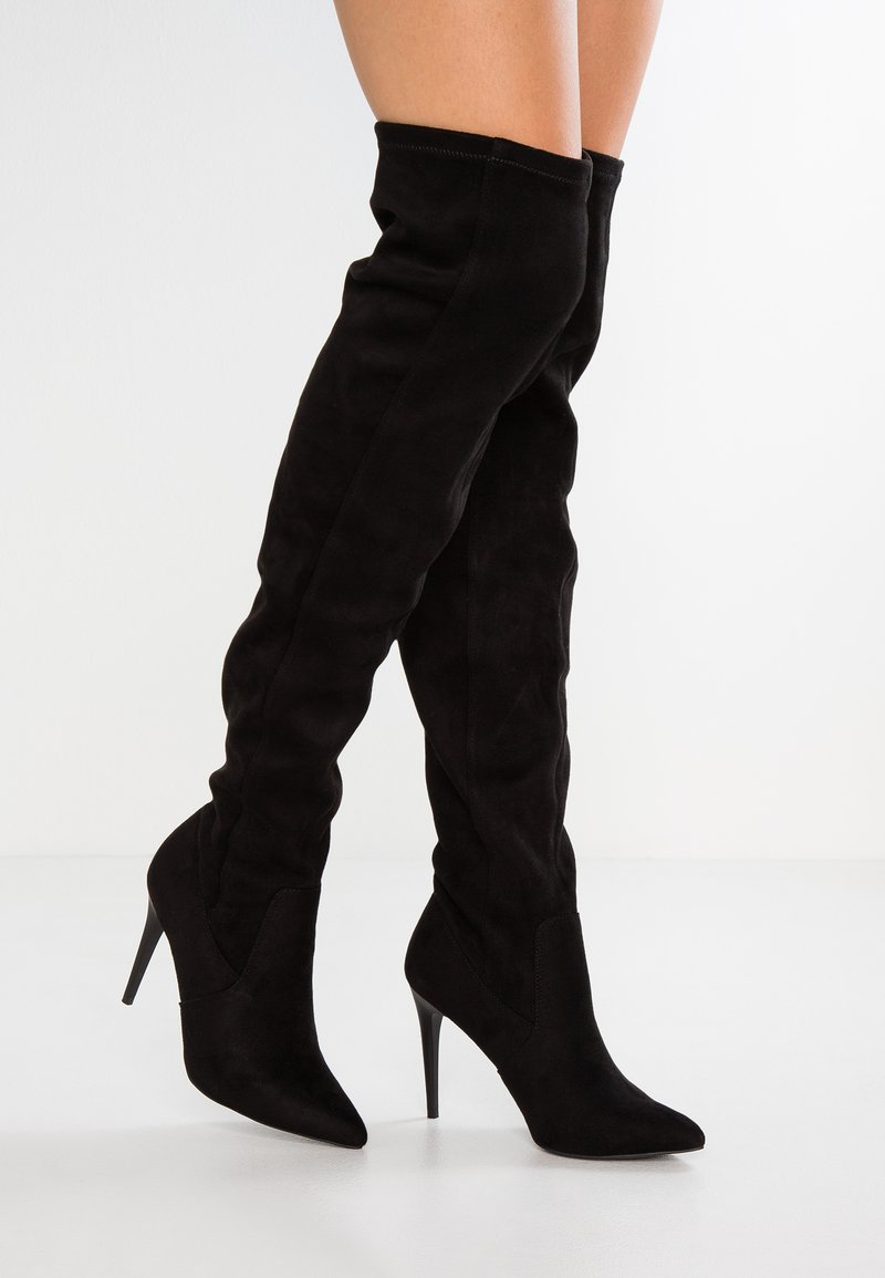 New Look - ADIOS - High heeled boots - black
