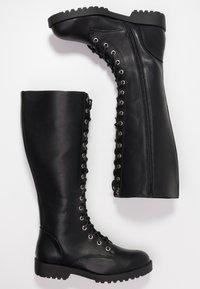 New Look - BRAVO - Snørestøvler - black - 3