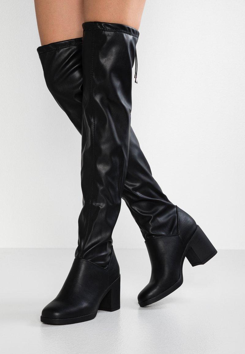 New Look - BLINK  - Overknees - black