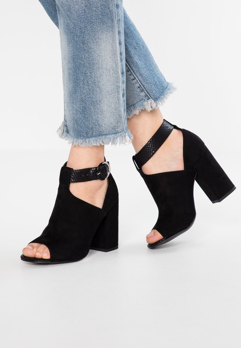 New Look - SHAMOO - High heeled sandals - black