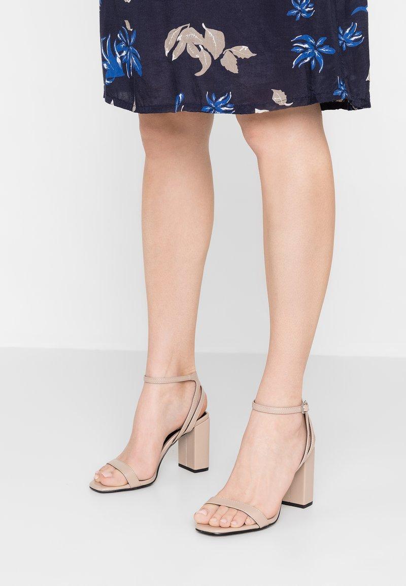 New Look - TWERK - High heeled sandals - oatmeal