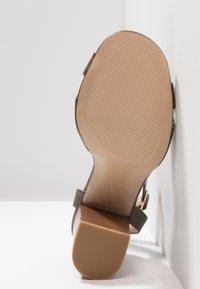 New Look - PENNY - High heeled sandals - dark khaki - 6