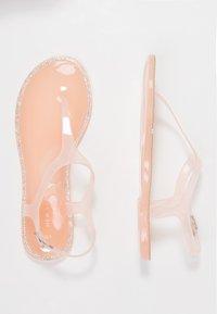 New Look - GELLYFISH - Sandály s odděleným palcem - light pink - 3