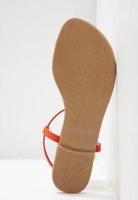 New Look - HOOPY  - T-bar sandals - burnt orange - 6