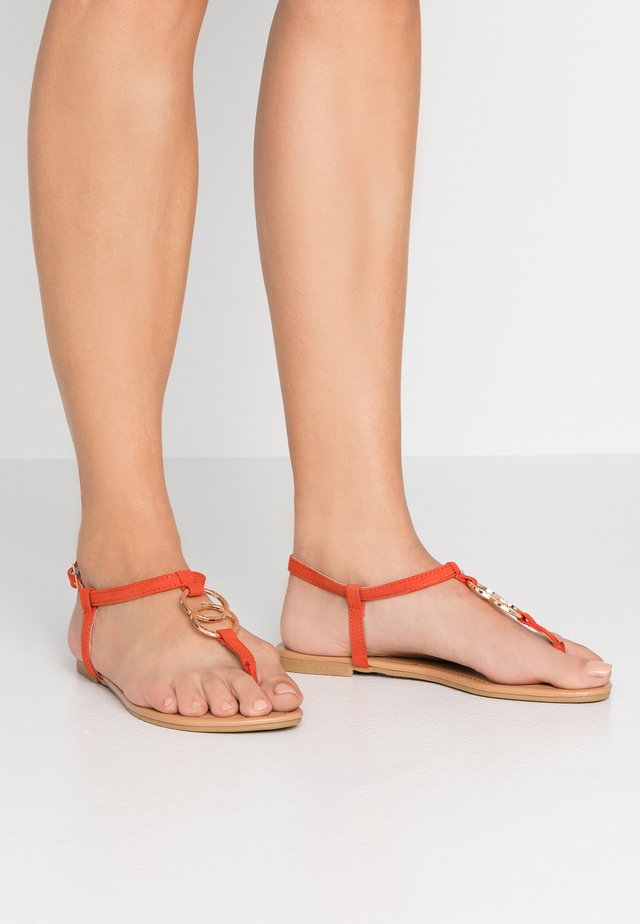 HOOPY  - Teensandalen - burnt orange