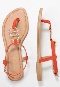 New Look - HOOPY  - T-bar sandals - burnt orange - 3
