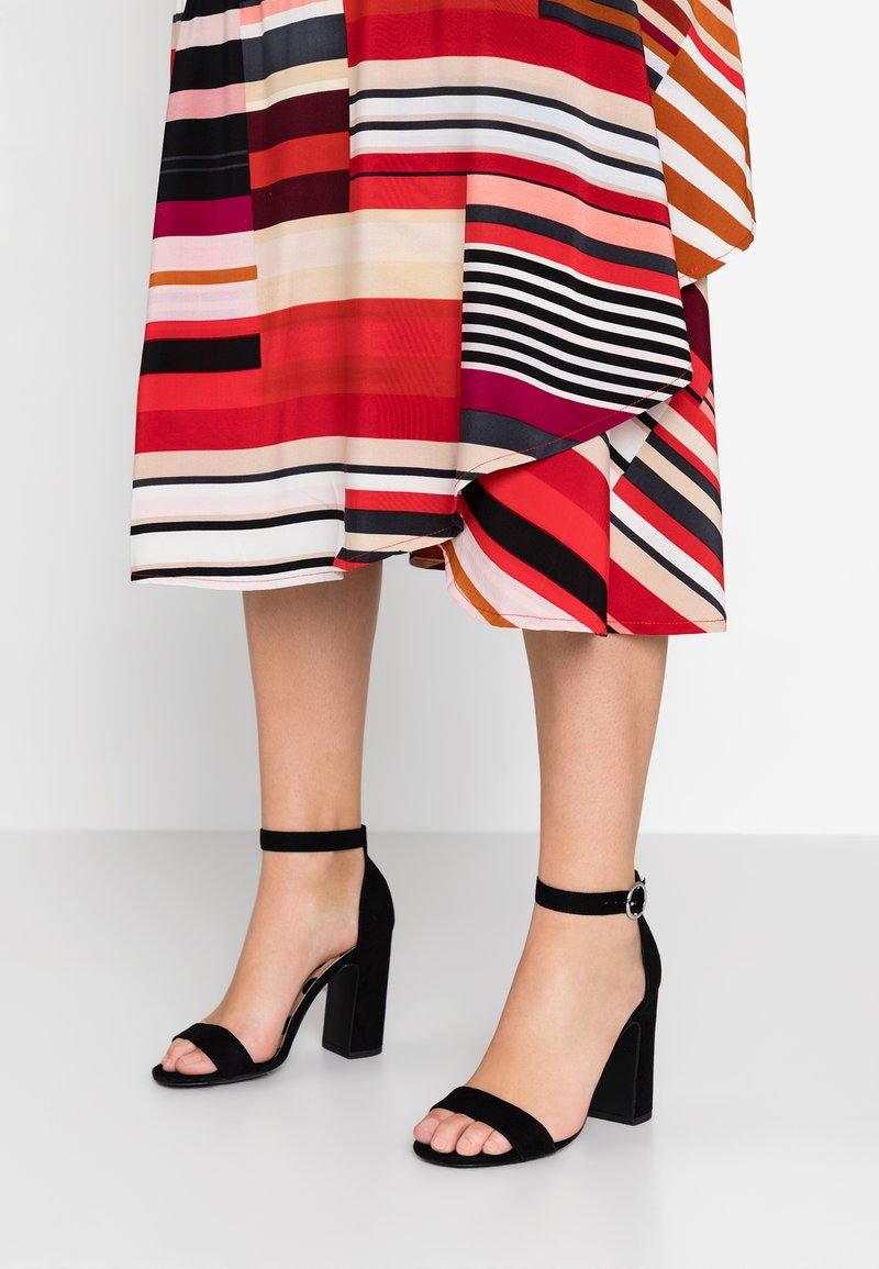 New Look - SWAGGLE  - Højhælede sandaletter / Højhælede sandaler - black