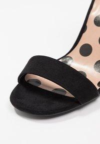 New Look - SWAGGLE  - Højhælede sandaletter / Højhælede sandaler - black - 2