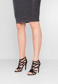 New Look - SATAY - High heeled sandals - black - 0