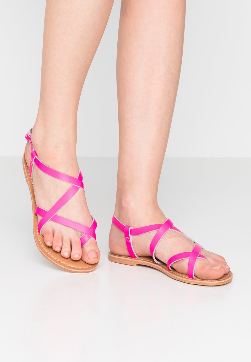 New Look - HAMMOCK - Zehentrenner - bright pink