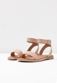 New Look - FIGARO - Sandals - oatmeal - 4