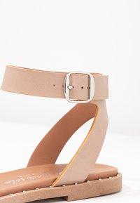 New Look - FIGARO - Sandals - oatmeal - 2