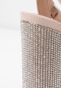 New Look - SIBLING - Sandály na vysokém podpatku - oatmeal - 2