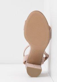 New Look - SIBLING - Sandály na vysokém podpatku - oatmeal - 6