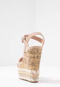 New Look - PROFFER - Sandalen met hoge hak - oatmeal - 5