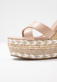 New Look - PROFFER - Sandalen met hoge hak - oatmeal - 2
