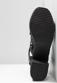 New Look - PEYTON - Platform sandals - black - 6