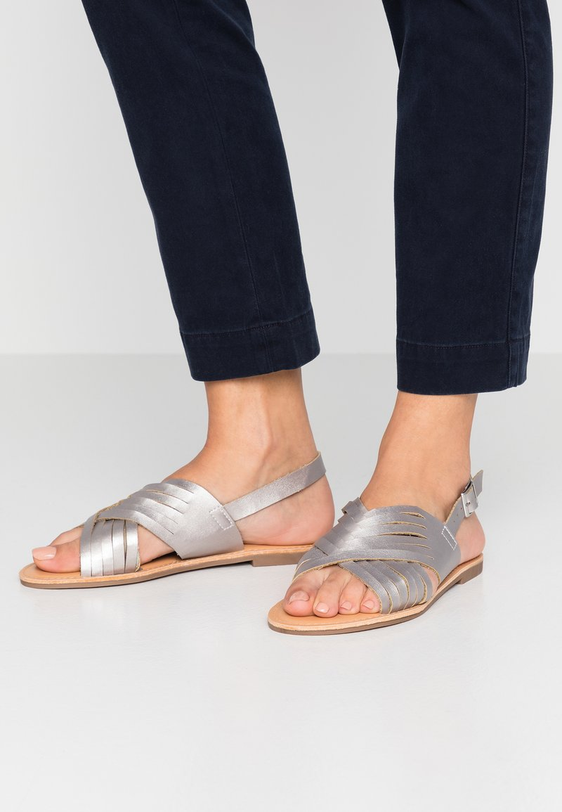 New Look - FISHTAIL - Sandals - silver