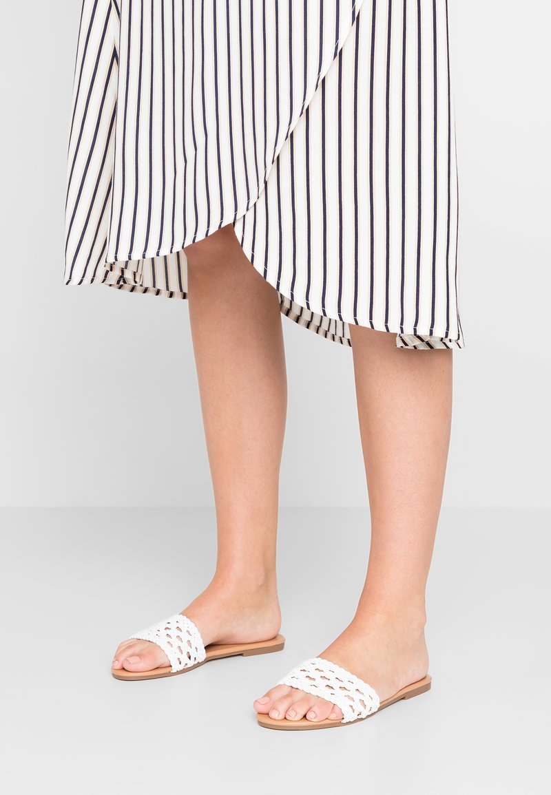 New Look - GROVE - Mules - white