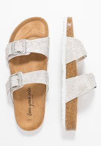 New Look - FLING - Slippers - silver - 3