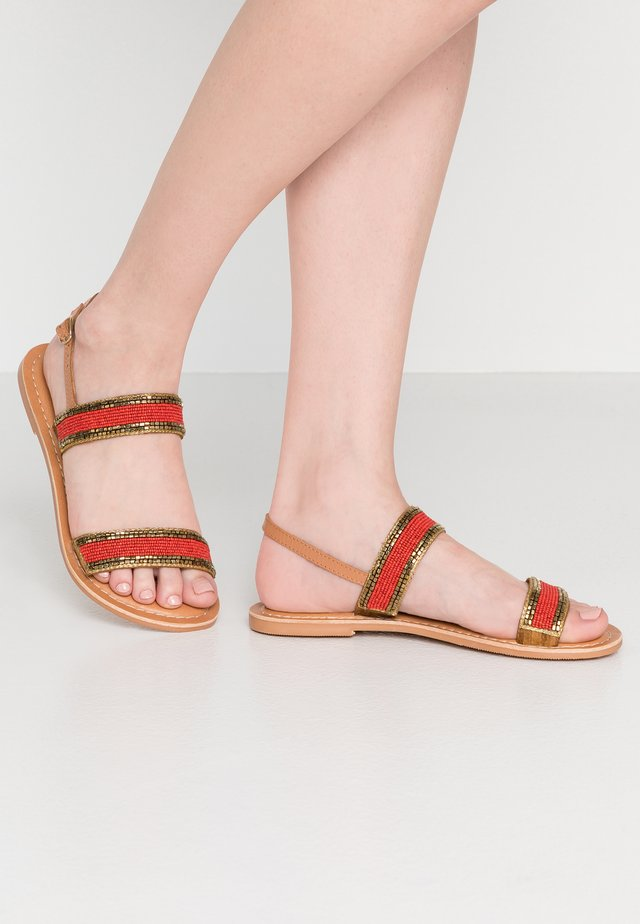 FAIRYTALE - Sandalen - burnt orange