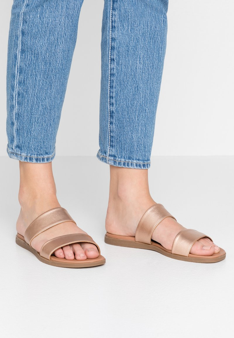 New Look - FUNSHINE - Mules - rose gold