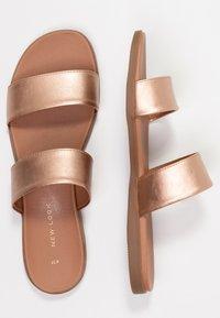 New Look - FUNSHINE - Mules - rose gold - 3