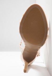 New Look - SHUSH - High Heel Sandalette - oatmeal - 6
