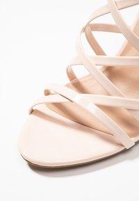 New Look - SHUSH - High Heel Sandalette - oatmeal - 2