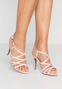 New Look - SHUSH - High Heel Sandalette - oatmeal - 0