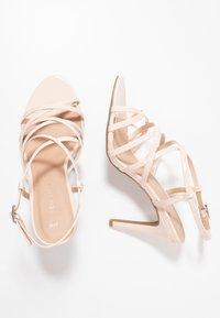 New Look - SHUSH - High Heel Sandalette - oatmeal - 3