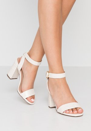 RICHARD - High heeled sandals - offwhite