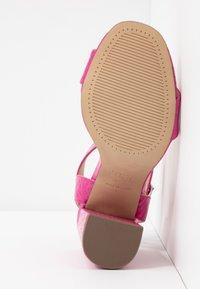 New Look - RICHARD - Sandalen met hoge hak - bright pink - 6