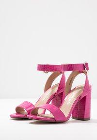 New Look - RICHARD - Sandalen met hoge hak - bright pink - 4
