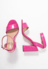 New Look - RICHARD - Sandalen met hoge hak - bright pink - 3