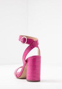 New Look - RICHARD - Sandalen met hoge hak - bright pink - 5