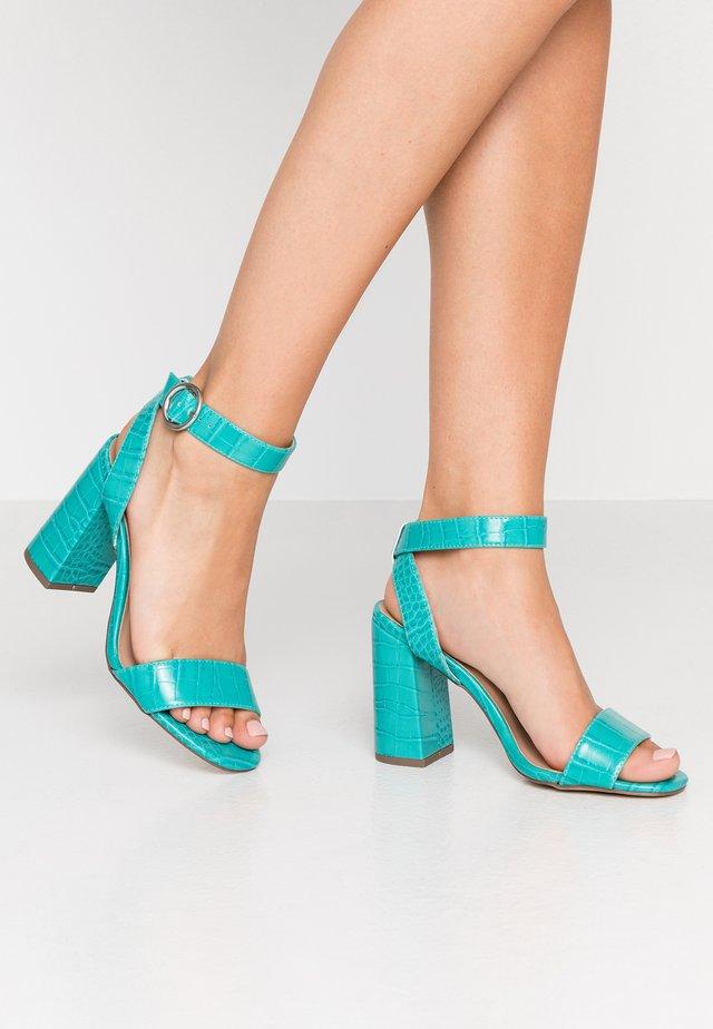 RICHARD - Sandalen met hoge hak - indigo