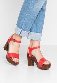New Look - PERK - Clogs - bright red - 0