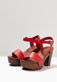 New Look - PERK - Clogs - bright red - 4