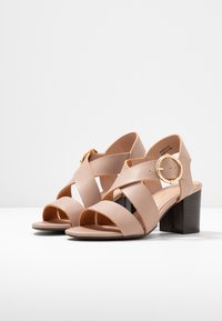 New Look - PARADISE - Sandals - oatmeal - 4