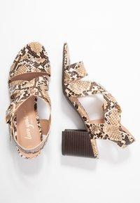 New Look - PARADISE - Sandalias - brown - 3