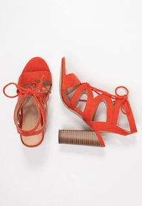 New Look - OAK - High heeled sandals - burnt orange - 3