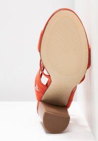 New Look - OAK - High heeled sandals - burnt orange - 6