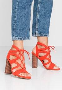New Look - OAK - High heeled sandals - burnt orange - 0