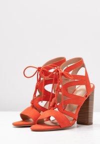 New Look - OAK - High heeled sandals - burnt orange - 4